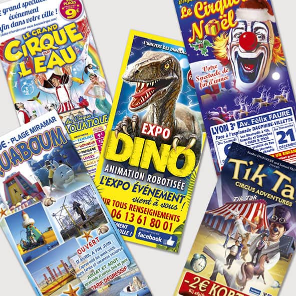 flyer cirque prospectus cirque