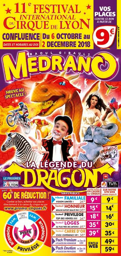 prospectus bon-flyer-10x21cirque-medrano-festival-du-cirque-de-lyon-2018 promocyrk promocirque