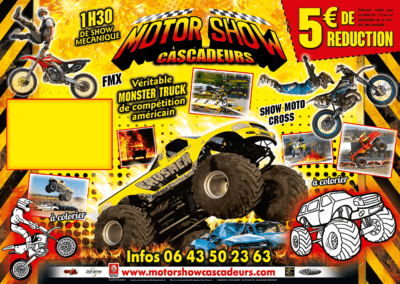 sets-de-tables-plateau-Mcdo-5-euros-de-reduction-motor-show-cascadeurs-show-moto-cross-fmx-monster-truck-alexandre-beautour promocyrk promocirque