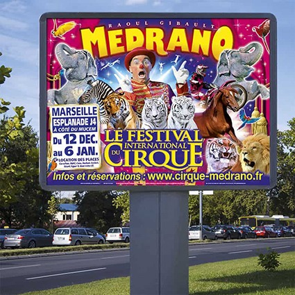 affiches murales cirque