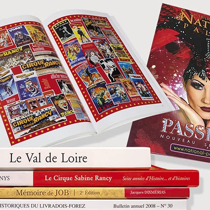 brochures programmes livres