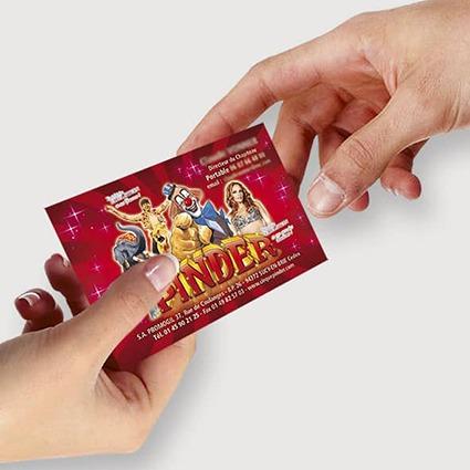 cartes commerciales cirque promocyrk