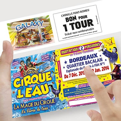 invitations cirque